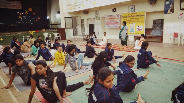 Celebrating International Yoga Day